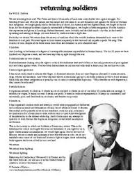 best apush per images teaching this powerful moving essay by w e b dubois calls african american iers returning from world war