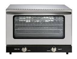 heavy duty half size countertop convection oven 1 5 cu ft 120v 1600w