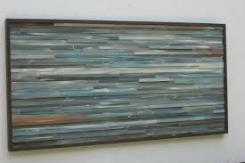 reclaimed wood wall art large wood wall