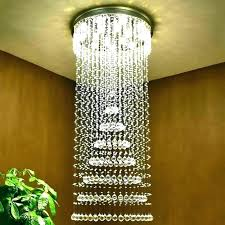 entryway crystal chandelier entry chandeliers also modern large size spiral round home improvement reboot farmhouse lighting c