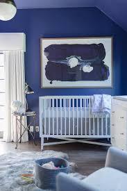 blue nursery with cornice box and curtains on dwell abstract wall art with blue nursery with cornice box and curtains contemporary nursery