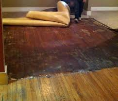 how to remove sticker residue from hardwood floor