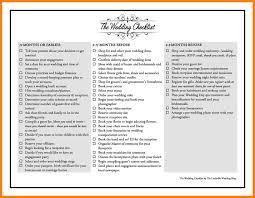 10 List Of Wedding Preparation Science Resume