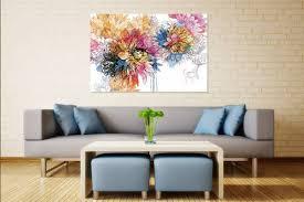 Tableau Déco Fleur Aquarelle - Izoa
