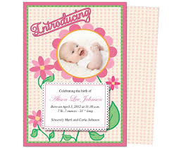 12 Best Baby Birth Announcement Templates Images On
