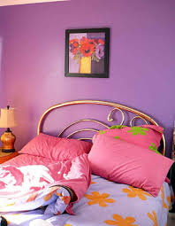Painting For A Bedroom What Is The Best Color For Bedroom With Romantic Purple Wall