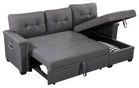 ashlyn sleeper sofa with usb charger