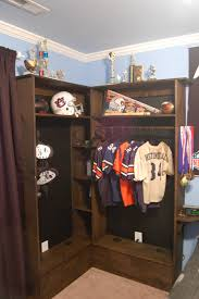 boys walk in closet. Trend Lockers For Bedrooms Bedroom Exquisite Small Walk In Closet Design Using Light Grey Wood Boys