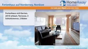 Norderney Ferienhaus Mit Garten 2010 Erbaut Terrasse 3 Schlafzimmer 2 Fewo Direktde Video