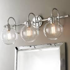 shabby chic bathroom lighting. Retro Glass Globe Bath Light 3 Shades Of In Bathroom Lighting Plan 0 Shabby Chic