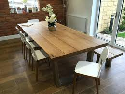 long oak dining table all dining large round oak dining table and chairs