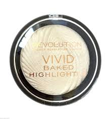 Makeup Revolution Vivid Baked Highlighter In Golden Lights Makeup Revolution Vivid Baked Highlighter Highlighting
