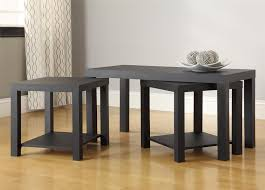 ameriwood home holly bay coffee table and end table set black com