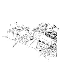 2006 jeep mander battery tray wiring diagram i2116548