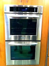 gas wall oven 24 inch inch gas wall oven stainless steel inch single electric wall oven