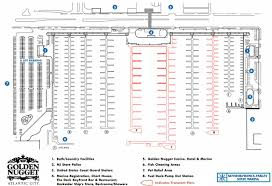 View The Layout Of Our Docks At Golden Nugget Atlantic City
