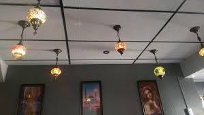 doner kebab restaurant turkish lamp decoration