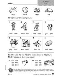 Consonant Blends Worksheets for 1st Grade   Homeshealth.info