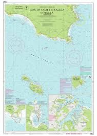 Imray Charts Mediterranean Imray Nautical Chart Imray M36 South Coast Of Sicilia To Malta