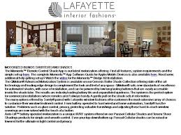 motorized blinds and shades lafayette interior fashions