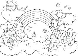 Coloring Pages Fairy Rainbow Fairy Coloring Pages Page Magic Petal