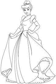 Coloring princess cinderella coloring page. Princess Colouring Pages Cinderella Through The Thousand Pictures On Line Wi Cinderella Coloring Pages Disney Princess Coloring Pages Princess Coloring Pages