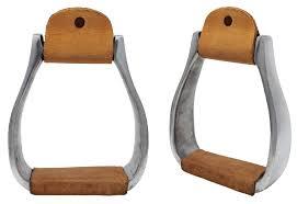horse western pleasure riding saddle aluminum stirrups leather tread 51168 com