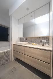 modern bathroom countertops. Fine Countertops Bulkhead With Downlight Caesarstone London Grey Bathroom Countertops Modern  Design Ideas Inside Bathroom Countertops