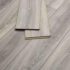 cottage distressed grey oak laminate flooring