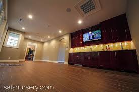 accent lighting ideas. wet bar with cherry cabinets accent lighting and tv ideas