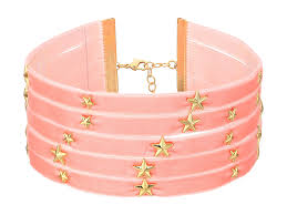steve madden 5 row velvet with star charms choker necklace gold womens jewelry necklaces chokers steve madden sandals with pom poms steve madden wedges