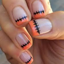 Diy Manicure Designs Easy Diy Halloween Nails Popsugar Beauty