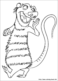 Small Picture Ice Age Continental Drift coloring pages on Coloring Bookinfo