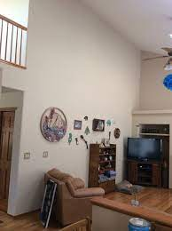 vaulted ceiling decorating