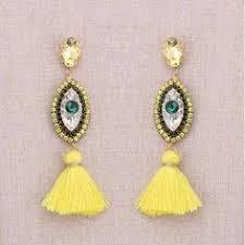 <b>Sehuoran Tassel Earrings</b> For Women EYE Geometric Fringed ...