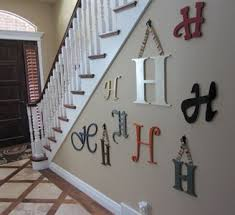 creative design letters to hang on wall crafty wooden letters