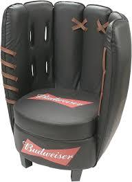 baseball chair and ottoman crown mark baseball glove kids faux leather chair and ottoman regarding baseball