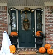 halloween door decorating ideas. Good Looking Idea For Halloween Door Decoration Astounding Front Porch Using Aged Dark Inspirations Decorating Ideas N