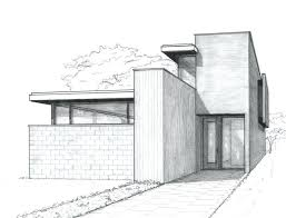 Modern home architecture sketches Modern Bungalow Architectural House Drawings Modern Oistinsme Architectural House Drawings Modern Home Architecture Sketches
