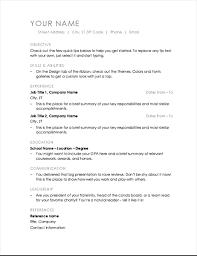 Resume (Minimalist design)
