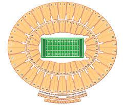 The Rose Seating Chart Pasadena 51 Faithful Rose Bowl Detailed Seating Chart