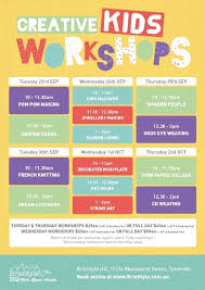 crafts classes for kids flyers brisstyle creative kids workshops brisbane arts crafts sewing