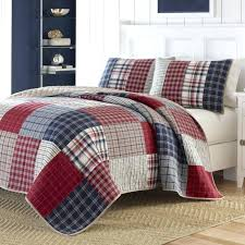 nautica plaid bedding navy king quilts for navy bedroom theme decor nautica red plaid bedding