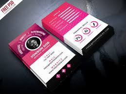 business card psd template free psd resume style business card psd template by psd freebies