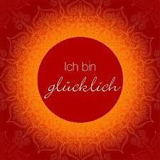 Translation I Am Happy Deutsch Lernen Positive Zitate Sprüche