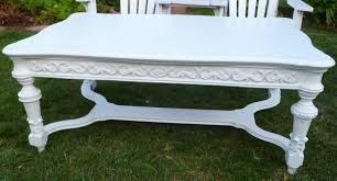 Shabby Chic White Coffee Table Shabby To Chic Treasures White Ornate Shabby Chic Coffee Table