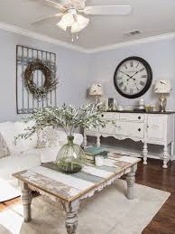 Buffet paint/refinish = perfect. Also coffee table display  Fixer Upper  Living RoomFixer Upper BedroomsShabby Chic ...