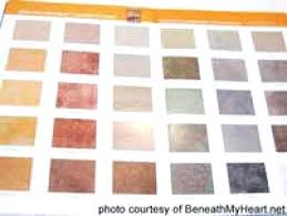 Concrete Sealer Color Chart Water Based Concrete Stains Reviews Getmoreinfo Co