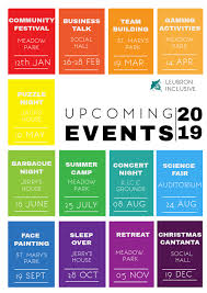 Upcoming Events Flyer Upcoming Events Flyer Template Postermywall