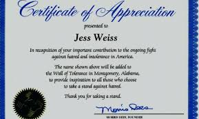 Examples Of Certificates Of Appreciation Wording Fascinating Sample Plaque Of Appreciation For Guest Speaker Best Of Sample